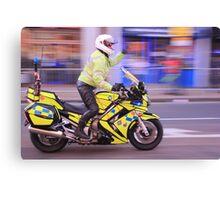 A blur performance before cycle marathon wimbledon Canvas Print