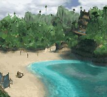 Besaid Island by Eugenenoguera