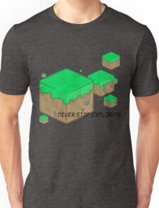 Minecraft explorer Unisex T-Shirt
