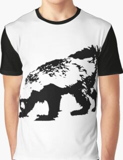 Honey Badger (black) Graphic T-Shirt