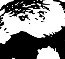 Honey Badger (black) Sticker
