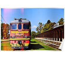 Train Train! Poster