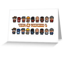 TF 2 Pixel art?Here it is. Greeting Card