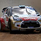 Miko Hirvonen - FIA World Rally Championship Australia 15.09.2013 by Noel Elliot