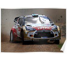 Miko Hirvonen - FIA World Rally Championship Australia 15.09.2013 Poster