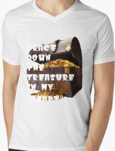 Treasure Hunt Mens V-Neck T-Shirt