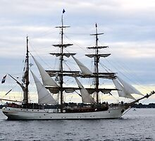 Europa Dutch Sailing Ship - Port Phillip Bay by forgantly