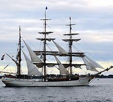 Europa Dutch Sailing Ship - Port Phillip Bay by forgantly