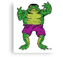 Frog Hulk Canvas Print