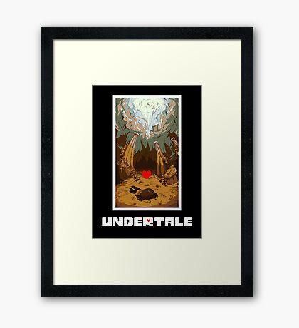 Undertale Human Framed Print