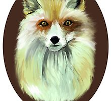 Pale Red Fox by Vicky Webb