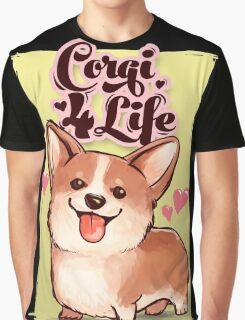 Corgi for Life Graphic T-Shirt