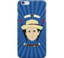 Doctor Who Portraits - Seventh Doctor - Champion iPhone Case/Skin