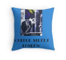 Jazz Poster Throw Pillow