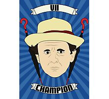 Doctor Who Portraits - Seventh Doctor - Champion Photographic Print