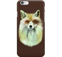Pale Red Fox iPhone Case/Skin