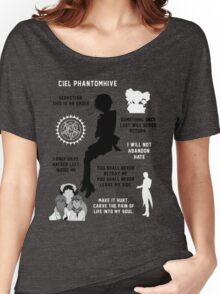 Ciel Phantomhive Women's Relaxed Fit T-Shirt