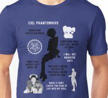 Ciel Phantomhive Unisex T-Shirt