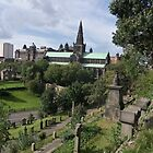 The Necropolis & View of Glasgow Cathedral by MagsWilliamson