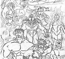 The Avengers by blazedyasa