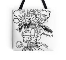 Open Me Up Like A Can Of Worms Tote Bag