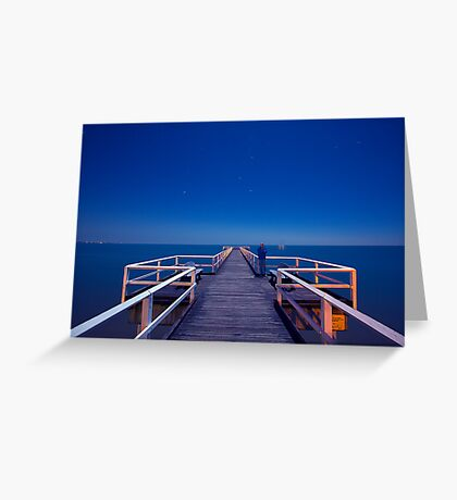 Resting in Torquay.. Greeting Card