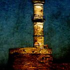 Lighthouse in Chania by Sarah Vernon