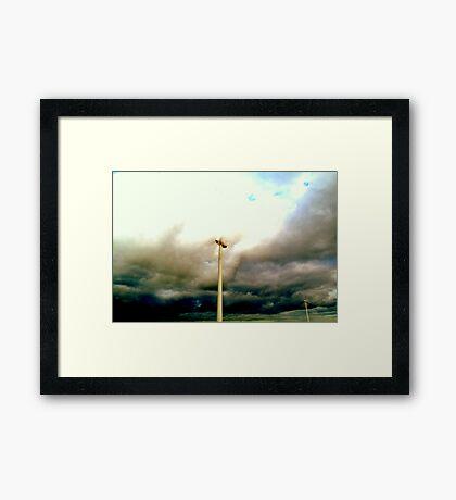 y)fierce Framed Print