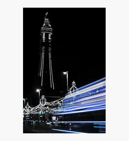 Blackpool Blues Photographic Print