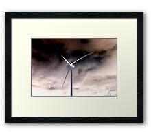 y)hazey Framed Print