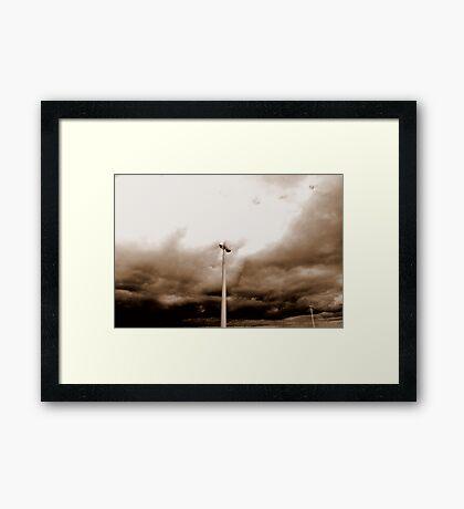 y)rest Framed Print