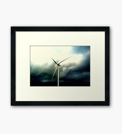 y)sleek Framed Print