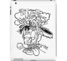 Open Me Up Like A Can Of Worms iPad Case/Skin
