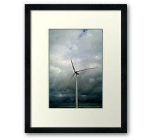 y)spin Framed Print