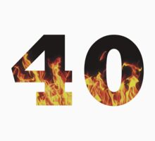 40 (Fire) One Piece - Short Sleeve