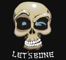 Let's Bone - Naughty Skull Halloween by FeralToaster