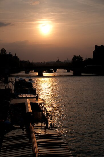Parisian Sunset by Helen Barnett