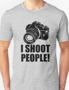 I Shoot Photographer Unisex T-Shirt
