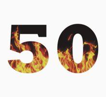 50 (Fire) One Piece - Short Sleeve