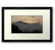 Smokies Dawn Framed Print