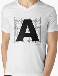 A-Maze-ing Mens V-Neck T-Shirt