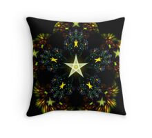 Autumn Stars Throw Pillow