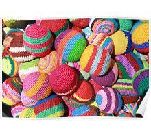 Handmade Balls Poster