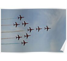 The Red Arrows (Concorde) Poster