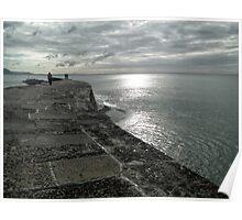Moody Sky at Lyme  Poster