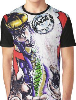 Jojo's Bizarre Adventure - Joseph Joestar Coca Cola attack Graphic T-Shirt