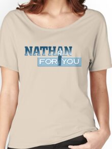 Nathan For You Women's Relaxed Fit T-Shirt