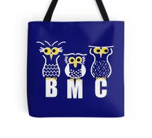 BMC Owls - Dark Blue Tote Bag