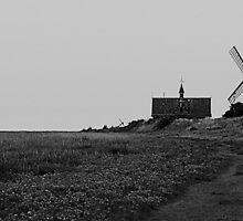 Lytham Windmill Coast by Winnie39