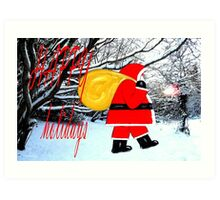 HAPPY HOLIDAYS 22 Art Print